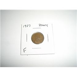 1927 Wheat Penny *FINE GRADE - NICE COIN*!!
