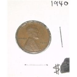 1940 Cent Penny *PLEASE LOOK AT PICTURE TO DETERMINE GRADE - Nice Coin*!!