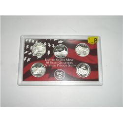 2006-S SILVER 50 STATE QUARTERS PROOF SET *NICE SILVER PROOF SET*!!