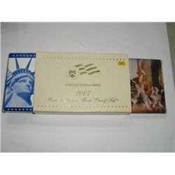 2007-S 14 PIECE PROOF SET *INCLUDES THE PRESIDENTIAL SET - NICE PROOF SET*!!