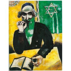 The pinch of snuff- Chagall - Limited Edition on Canvas