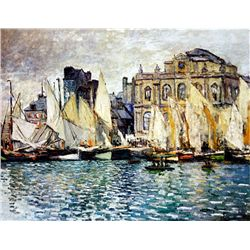 The Museum at le Habre by Monet