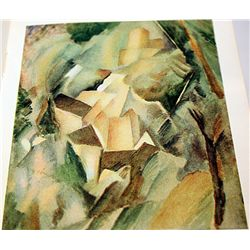 RARE ORIGINAL LITHOGRAPH BY ARTIST GEORGES BRAQUE
