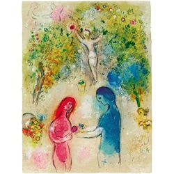 Frontispice- Chagall - Limited Edition on Canvas