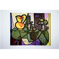 Picasso Limited Edition - Pitcher And A Bowl Of Fruit - from Collection Domaine Picasso