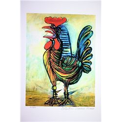 Picasso Limited Edition - Le Coq - from Collection Domaine Picasso