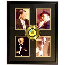 Frank Sinatra four Giclees with Gold Record