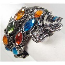 JEWELED DRAGON BRACELET