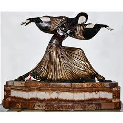 Thais - Bronze and Ivory Sculpture by Chiparus