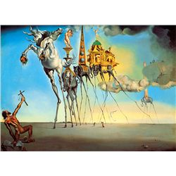 Temptations Of St. Anthony - Dali - Limited Edition on Canvas