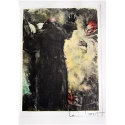 Original Louis Icart Lithographs from Le Faust suite - Devil's Distress