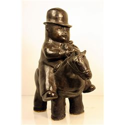 Botero   Original limited Edition Bronze Sculpture - PEDRITO