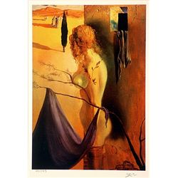 Salvador Dali Signed Limited Edition - The Sing of Anguish