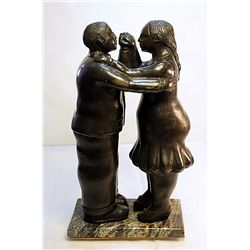 Botero Bronze Sculpture -  Dance Lesson