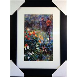 Pierre August Renoir  Limited Edition-Garden in the Rue Cortot