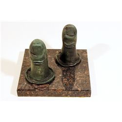 Salvador Dali  Original, limited Edition Bronze -    The Thumbs