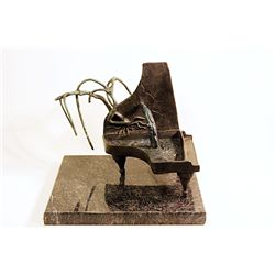 Salvador Dali Enchanting Limited Edition Bronze- Sentimental Colloquy  I