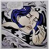 Drowning Girl by Lichtenstein