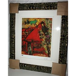 Chagall  Limited Edition - Red House