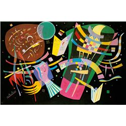 Composition X  - Kandinsky - Limited Edition on Canvas