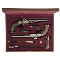 LEPAGE CASED SET OF REPRODUCTION DUELING PISTOLS