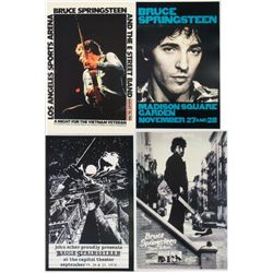 Four Bruce Springsteen Reproduction Rock Posters
