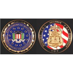 US FBI Collectors Coin