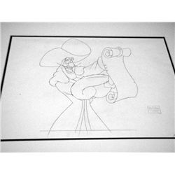 Disney Orig Drawing Animation Return to Never Land Hook