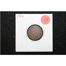 1906 Indian Head One Cent