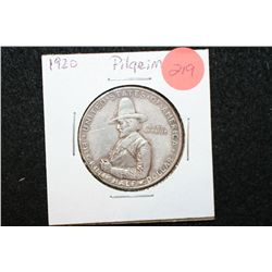 1920 Pilgrim Tercentenary Celebration Commerative Half Dollar
