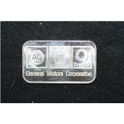 AC-Delco General Motors Corporation; .999+ Silver 1 Oz.; Liberty Mint