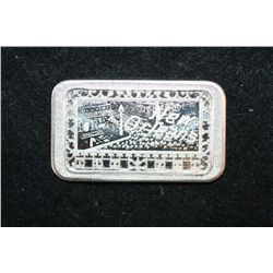 New Orleans Silver Ingot; .999 Fine Silver 1 Oz.; Mother-Lode Mint