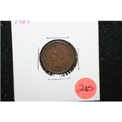 1904 Indian Head One Cent