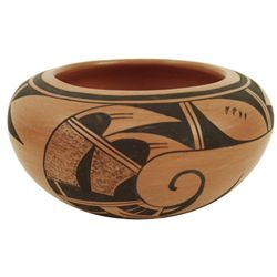 Hopi Pottery Bowl - Evelyn Poolheco
