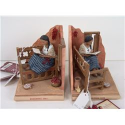 Pair of American Girl Bookends