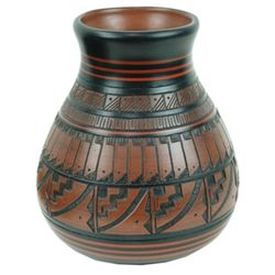 Navajo Pottery Jar - Freida Lee