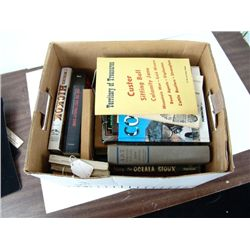 Box Lot of Books