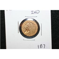 1913 Indian Chief $2 1/2 Gold Coin