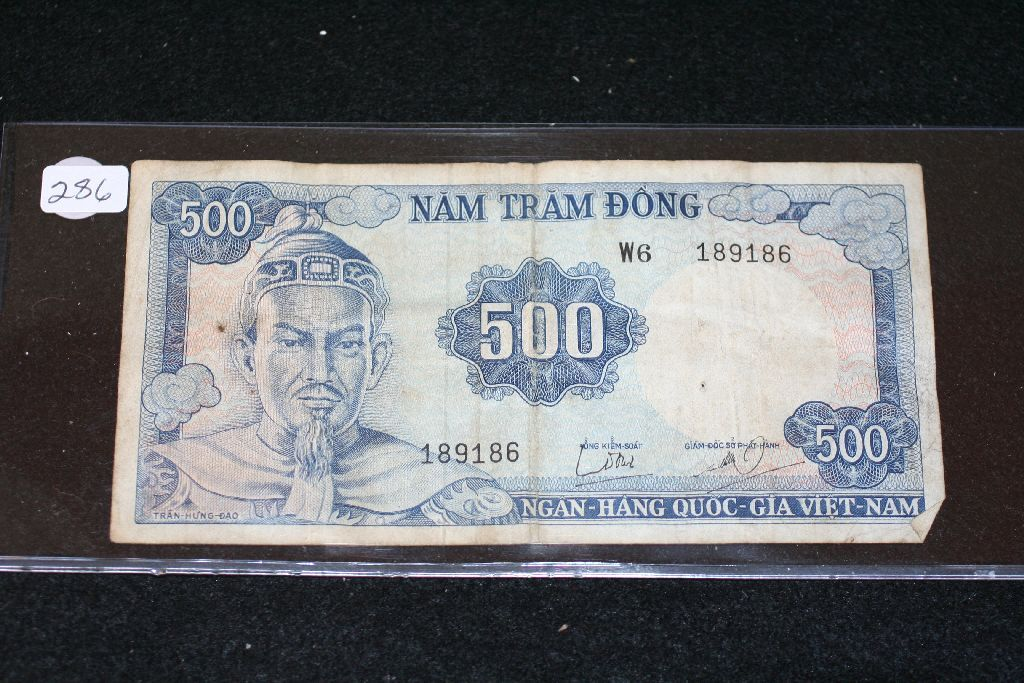 Image 1 Vietnam 500 Nam Tram Dong Foreign Bank Note