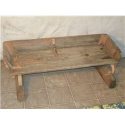 Vestige Buggy Seat Turned Into Bench