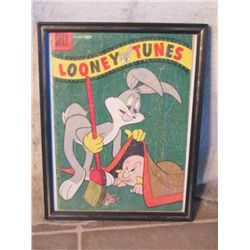 10 Cent Looney Tunes Framed Comic