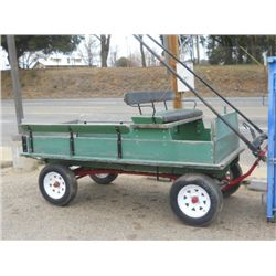 Pioneer Utility Wagon On 1 Ton Gear