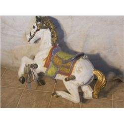 Plastic Carousel Horse Flexible Flyer