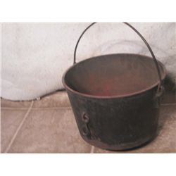 "7 1/2"" Deep 9 1/2"" Wide Cast Iron Pot"