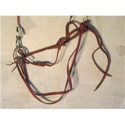 Brown Leather Bridal With Snaffle Bit