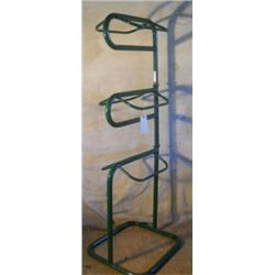 "71"" Tall Stable Rack. Use For Saddle And Tack"