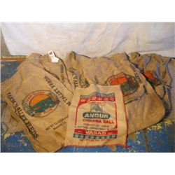 Feed Sacks From Misc Feeds