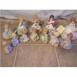 Kelvin Vintage Porcelain Birthday Dolls