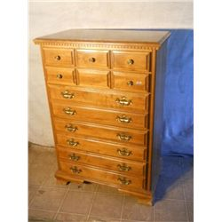 5 Drawer High Boy Dresser Possible Vintage
