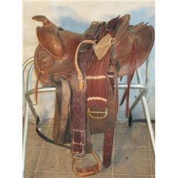 1940 Brown Sears Saddle